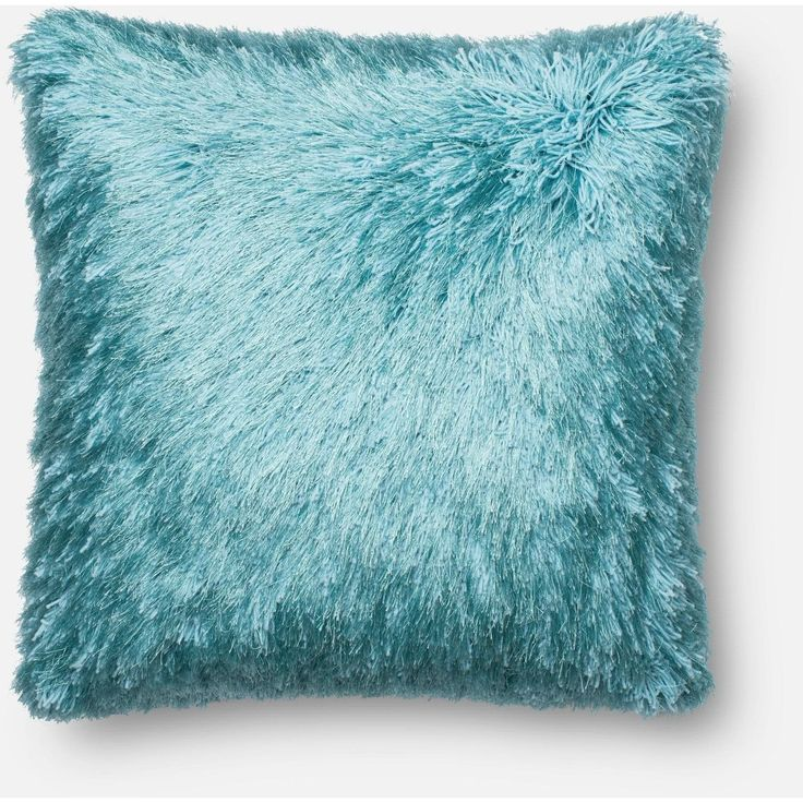 Loloi, Shaggy Throw Pillow, Many Colors