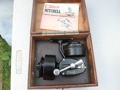 Vintage #mitchell 300 half bail #spinning #fishing reel, View more on the LINK: http://www.zeppy.io/product/gb/2/311622915216/