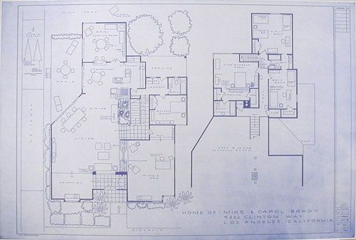 Mark Bennett, an L.A. artist, takes the residences of our childhood television memories and drafts up the floor plans.