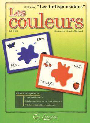 Une référence chez les maternelles pour découvrir les couleurs !