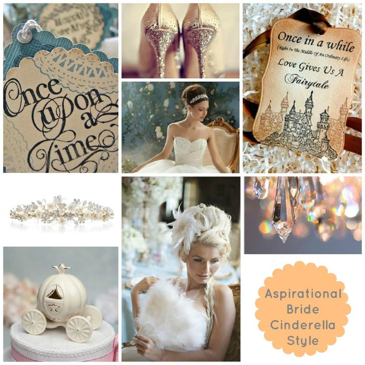 Once Upon a Time... Cinderella themed wedding