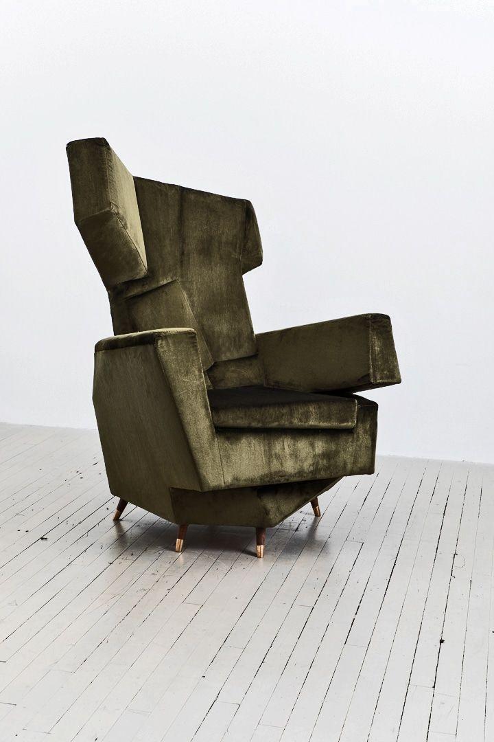 Hannes Grebin, Cozy Chair, DE, 2018   Todd Merrill Studio