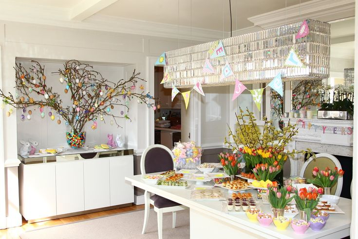 Easter Party Decorations | How to Decorate for your Easter Celebration