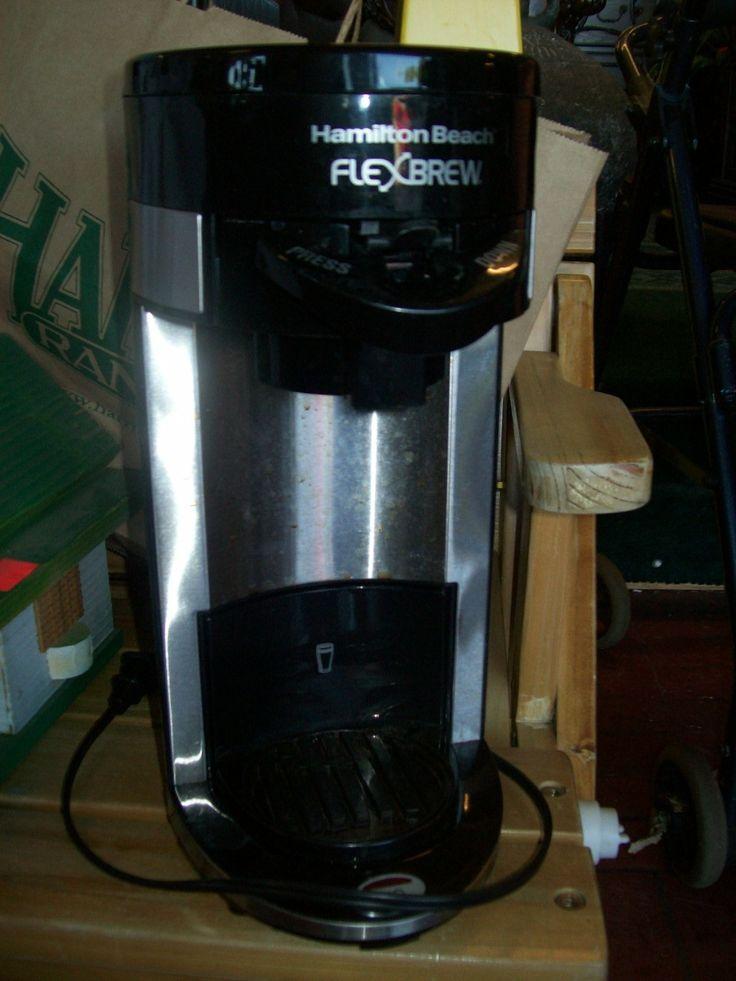 Hamilton Beach Flexbrew single serve coffee maker 8879
