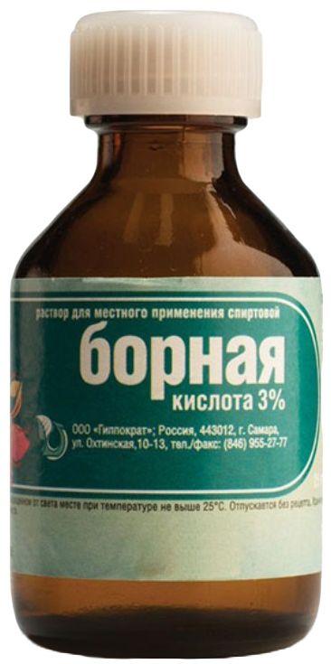 Борная кислота для растений