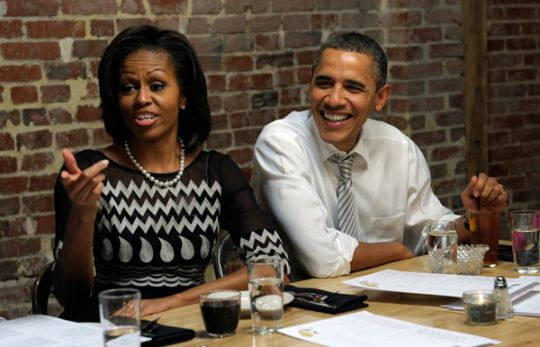 The Obamas paid a total federal tax rate of 20.5 percent on a gross adjusted income $789,674, which would typically fall within the top federal rate of 35 percent. According to an analysis of the president's tax return, he may have paid a lower rate than his secretary despite making more than eight times as much money as she did.