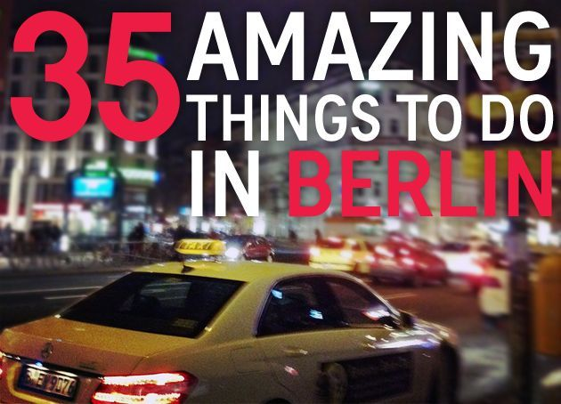 35 Amazing Things To Do in Berlin, Germany // Get more travel tips and inspiration for Germany at http://www.holidaystoeurope.com.au/home/resources/destination-articles/germany