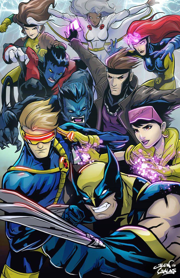 90 S Xmen Group By Glencanlas Grupo Dos X Men Nos Anos 90 Por Glencanlas Https Www Deviantart Com Glencanlas On D Marvel Xmen Comics Marvel Comics Art