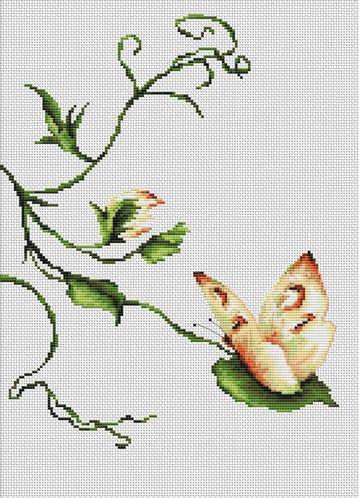 Touch Cross Stitch Kit - £14.25 on Past Impressions | by Luca-S