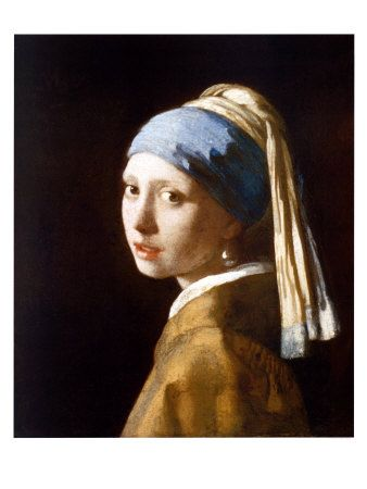 Girl with a Pearl Earring Art Print at AllPosters.com