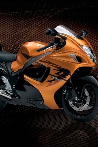 Orange Motorcycle Suzuki Hayabusa Itu0027s The Color