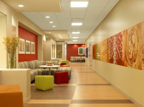 Although The Facility Has High Tech Medical Simulation Spaces Overall Design Approach Reflects