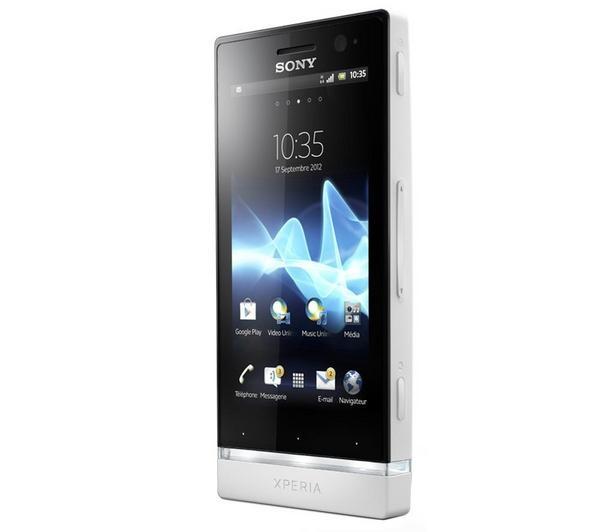 Sony Xperia U Blanc Mon futur portable !