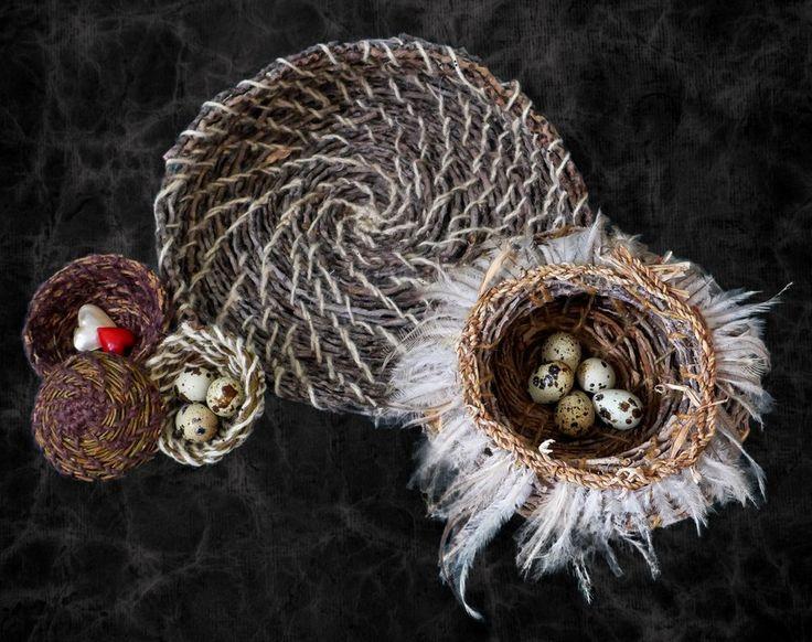 Amazing handmade baskets by Sharon Bartle!