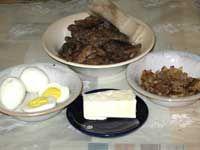 Продукты для приготовления печеночного паштета