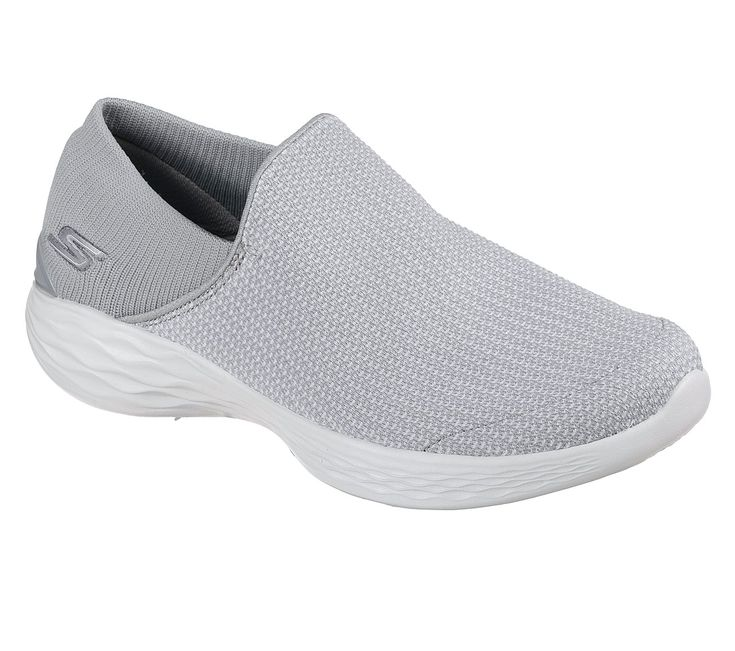 You by skechers®. A new footwear collection combining lifestyle and wellness. Versatile. Active. Comfort, style and flexibility with the YOU - Mantra by skechers® shoe. Designed to be worn. Soft woven mesh fabric and super flexible knit fabric upper in a slip on sporty walking and comfort athletic shoe with stitching detail. Comfort insole and midsole design.  Knit fabric soft heel panel.
