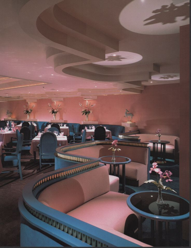 Boccaccio Houston Texas  From Dining By Design (1985)