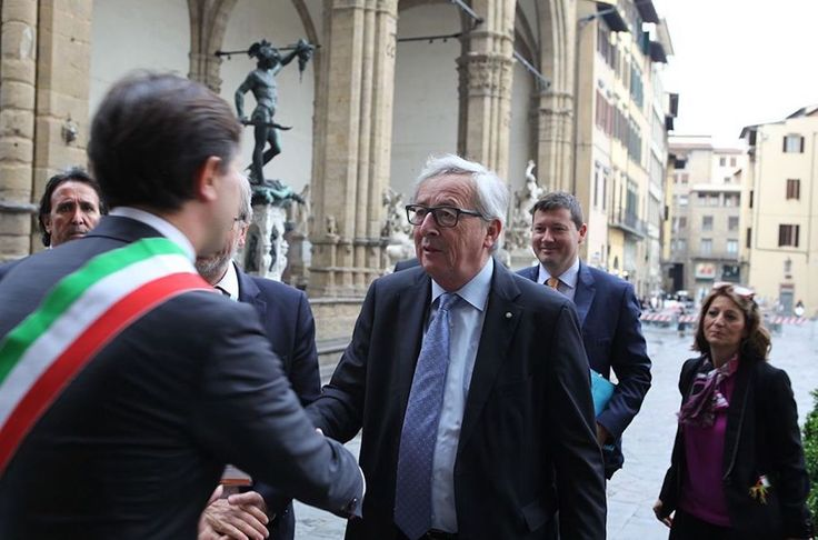 Italy has saved Europe's honor, Juncker told at #SOU2017