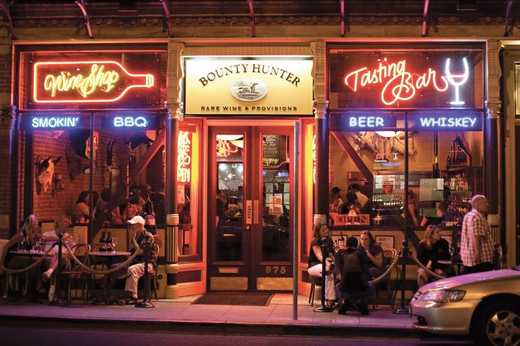 Downtown Napa Nightlife - Bounty Hunter. #VisitNapaValley #WhyHB
