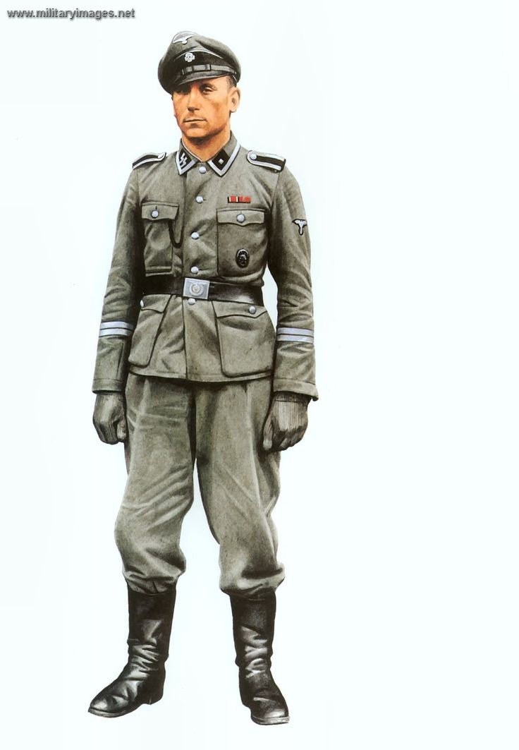 German Uniform Costume 50