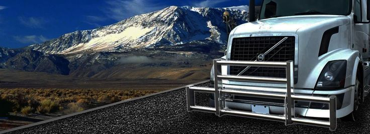 Semi Trucks - Having a front deer grill guard equipped to your truck can save you time and money in the case of an accident