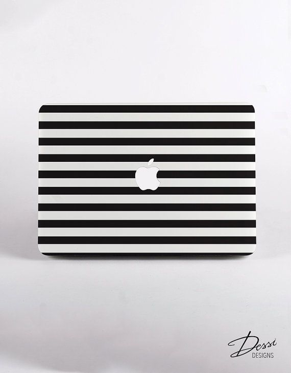 Black And White Stripes Case for MacBook, Macbook Pro, Macbook pro Retina Display and MacBook Air. This season is all about stripes. Inspired…