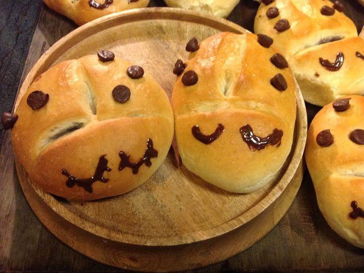 Ladybug Bread-紅豆瓢蟲麵包