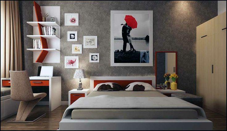 Desain interior kamar tidur minimalis   Rumah Minimalis   RumahDSGN.com