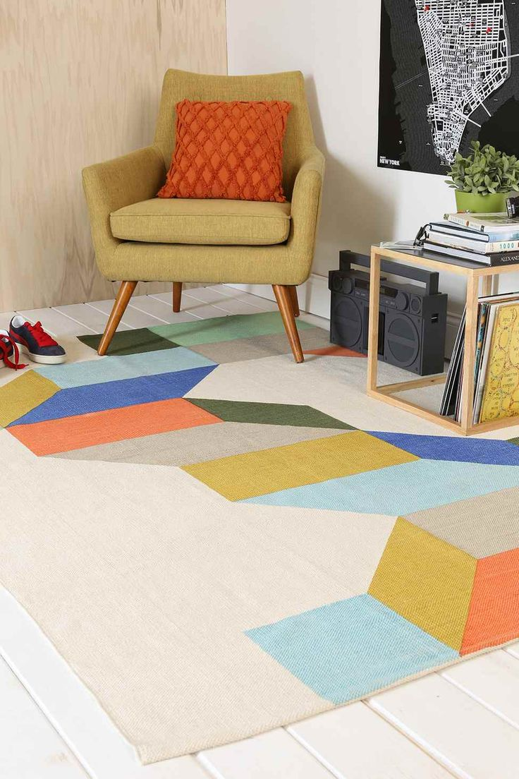 Complex Colour 5x7 Rug - Urban Outfitters