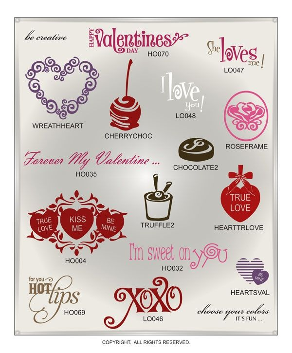 saint valentine's day fonts