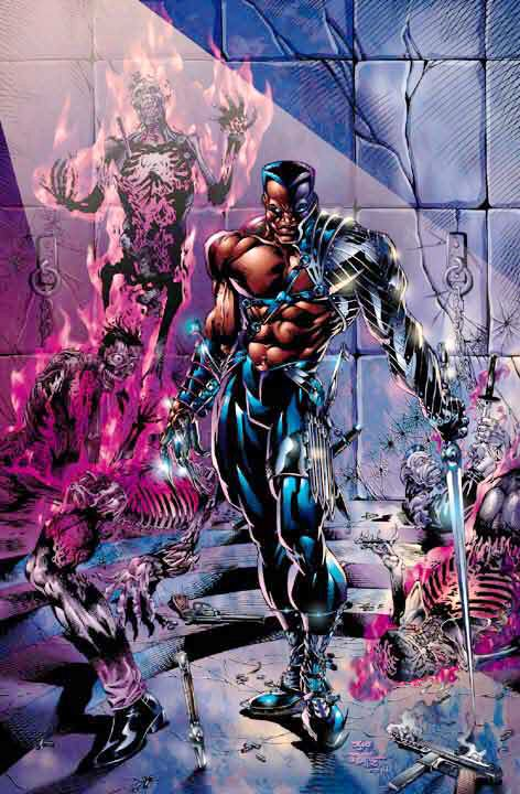 Blade by Bart Sears. #comic illustration . Pin and follow @Pyra2elcapo
