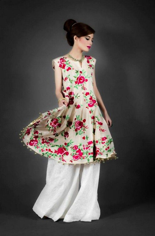 Qashang Eid Collection 2013 For Women 0012