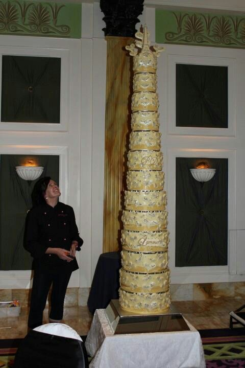 biggest tier wedding cake 9 best images about tallest cakes on posts 11741