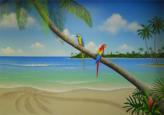 17 best images about murals and beachy art on pinterest for A perfect day mural