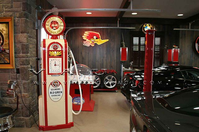 210 best images about cool garages on pinterest shops for Custom garage design