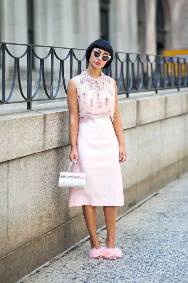 32 ways to wear one color from head-to-toe.