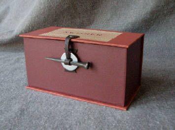 """""""fineblankbooks.com -Square Nail Hardware Box"""""""