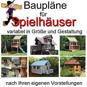Spielhaus-Baumhaus-Stelzenhaus-Bauplan-Bauplaene-S