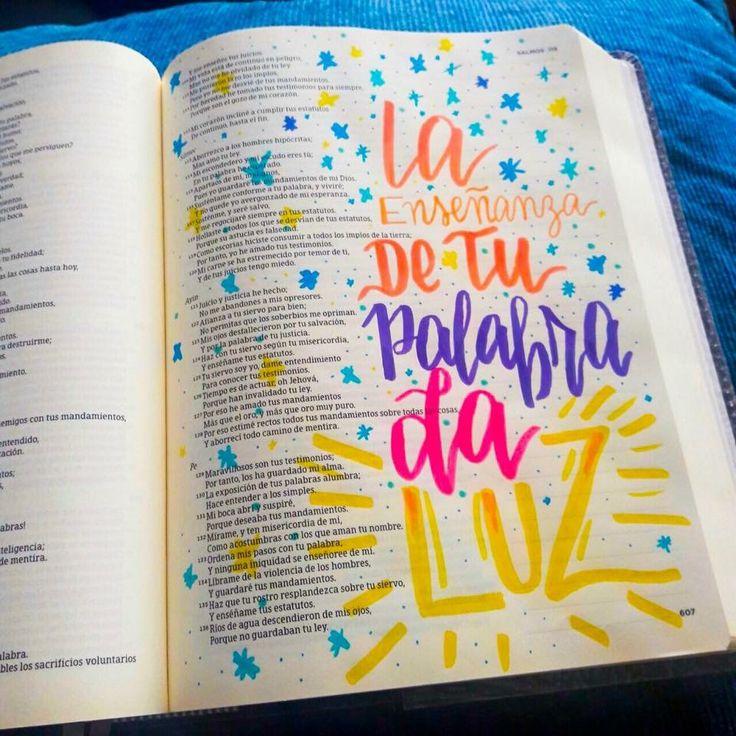Bible journaling español #Biblejpurnaling #bibliadeapuntes #Devocional #creativo #dmancipeletters #lettering #caligrafía
