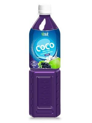 100_PET_Bottle_Pure_Coconut_water_with_Grape_flavour_Suppliers_Vietnam