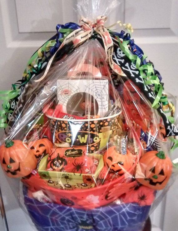 handmade kids pumpkin carving baking crafts candy fun gift basket by cappelloscreations 50 - Halloween Gifts Kids