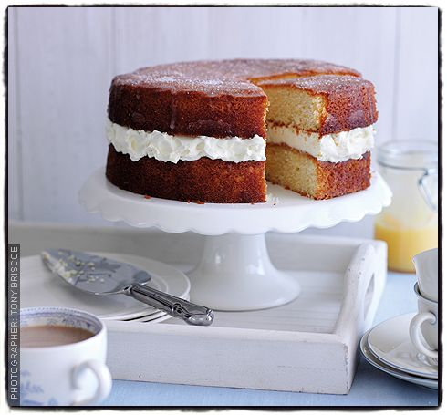 Making Jo Wheatley's lemon drizzle sponge tomorrow for after lunch on Saturday. From Sainsbury's magazine.