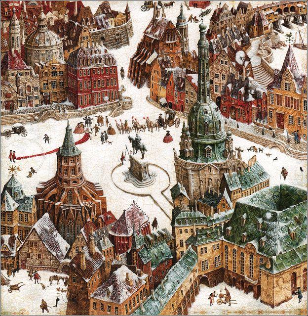 "Hans Christian Andersen, ""The Tinder-Box"" by Vladislav Erko:"