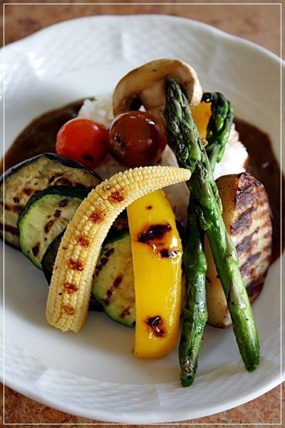 ZEPPINカレーで作るグリル野菜カレー