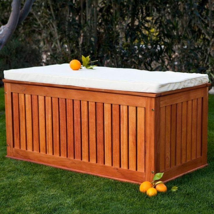 Building Patio Bench With Storage: Best 25+ Deck Storage Bench Ideas On Pinterest