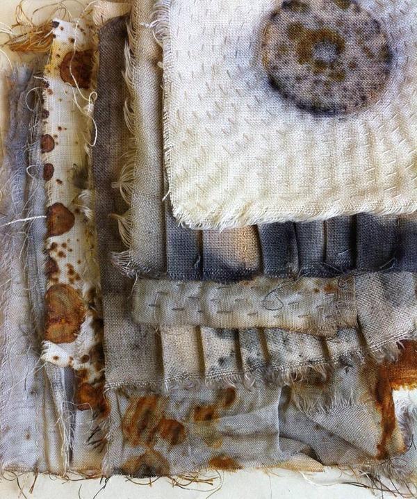alice fox Stitch, Fold, Rust
