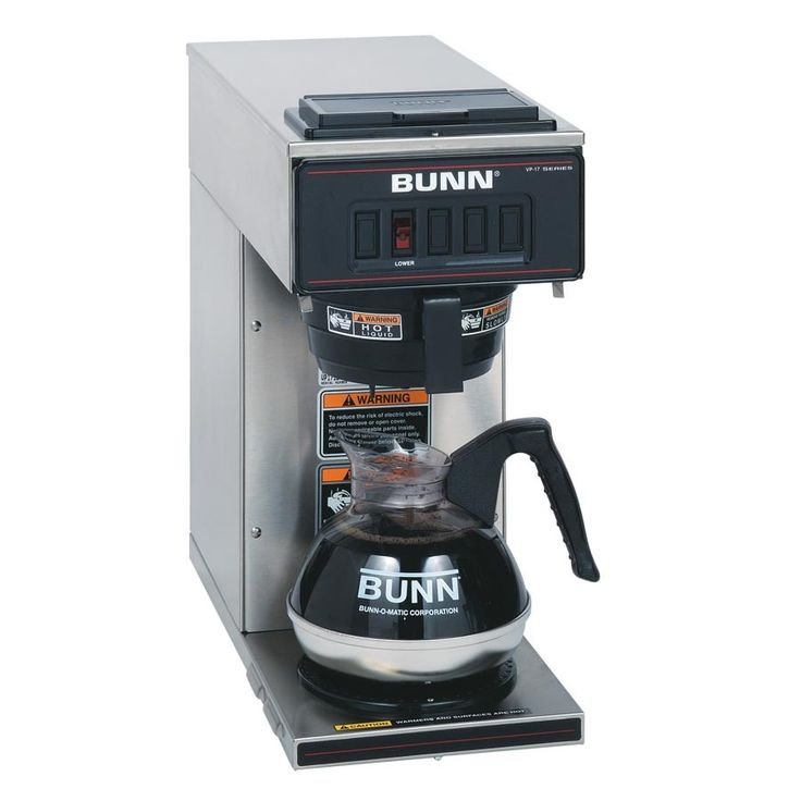 Coffee Filter For Bunn Coffee Maker : 1000+ ideas about Bunn Coffee Makers on Pinterest Bunn coffee, Home coffee machines and Best ...