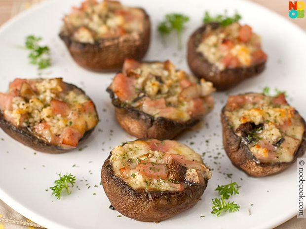Baked Portobello Mushrooms Recipe