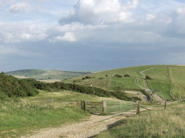 The Downs above Alfriston