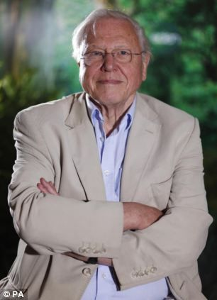 Sir David Attenborough said it is irresponsible to have a large family in today's overcrowded world